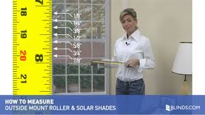 Solar Shades How To Measure For Outside Mount Roller And Solar Shades U0026raquo