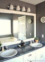 framing bathroom mirrors with crown molding framing a bathroom mirror awesome to frame out that builder basic