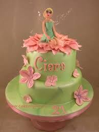tinkerbell birthday cakes tinkerbell cakes aol image search results