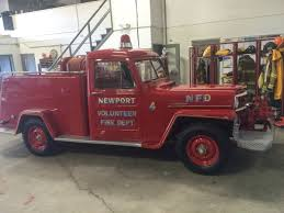 willys jeep pickup lifted 1955 willys fire truck photo submitted by greg grampovnik