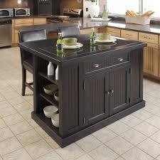 kitchen islands with granite tops beachcrest home rabin kitchen island with granite top reviews