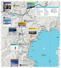 Squaw Trail Map Nordic Ski Areas Go Tahoe North