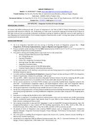 sap on resume erp resume format 100 resume maker in nagpur