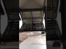 bifold rv garage door youtube