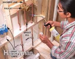 How To Install A New Bathtub Faucet How To Install A Whirlpool Tub Family Handyman