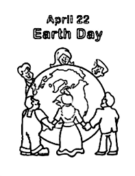 peoples around the world celebrating earth day coloring page netart