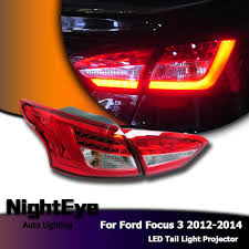 2014 ford focus tail light nighteye ford focus 3 tail lights 2012 2014 new focus sedan led tail l