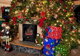 Christmas Ornaments Lights Decorations And Trees by This Image Is A Traditional Christmas Hearth Scene With A Huge