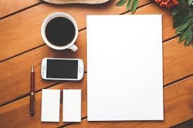 Wooden Desk Background Business Identity Blank Stationery Set On Wood Background Free