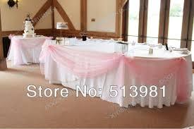 wedding draping fabric 1 35 5m unit 21corlors sheer mirror organza stiff fabric for