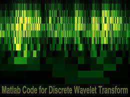 tutorial wavelet matlab matlab code for discrete wavelet transform pantech blog