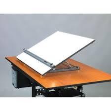 martin universal design drafting table adjustable angle portable drafting table with straightedge drawing