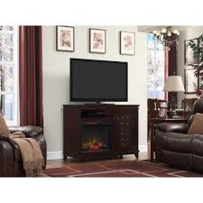 bold flame 47 25 in infrared bluetooth media console electric