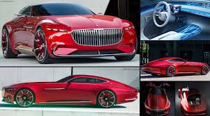 maybach sports car mercedes benz vision maybach 6 concept 2016 pictures