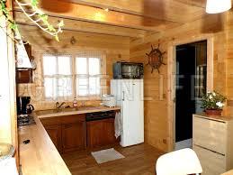 cuisine chalet bois chalet bois mareva 96 maison bois greenlife