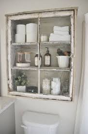 Vintage Bathroom Storage Cabinets Turn An Window Into A Cabinet Storage Organization