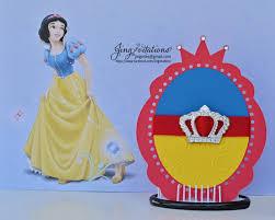 handmade princess snow white invitations jingvitations