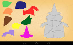 kids halloween shape puzzles android apps on google play