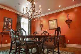 Pumpkin Colored Curtains Decorating Dining Room Decoration For Dining Room Color With Green