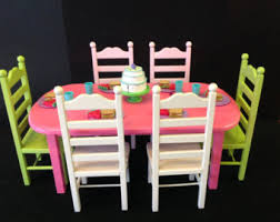 american doll table and chairs american doll table and 4 chair set