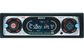 sony cdx ca700x cd receiver with cd changer controls at