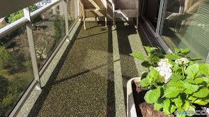 balkon bodenbelã ge wohnzimmerz bodenbeläge balkon with einbau auf bitumenbahn oder