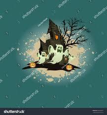 Happy Halloween Icons Happy Halloween Design Elements Halloween Design Stock Vector