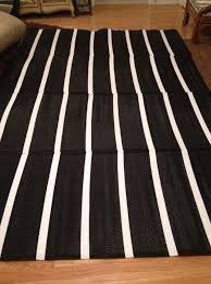 Black And White Striped Runner Rug Black Striped Runner Rug Home Design Ideas
