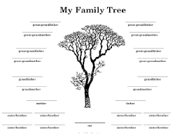 tree with many siblings template