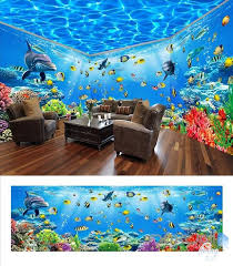 wallpaper for entire wall underwater world theme space entire room wallpaper wall mural decal