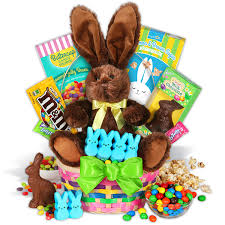 easter gifts classic easter bunny gift basket by gourmetgiftbaskets