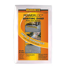 Home Depot Concrete Patio Blocks by Quikrete 50 Lb Powerloc Jointing Sand 115047 The Home Depot
