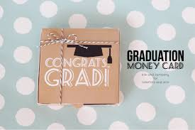 graduation money box 40 creative money gifts for the grad