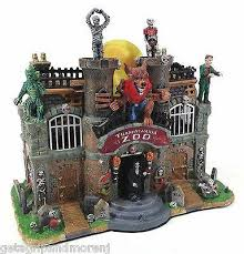spooky town lemax spooky town transylvania zoo monsters costume