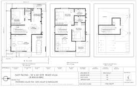 floor plan for 30x40 site home architecture house plan design x east facing site plans 30x40