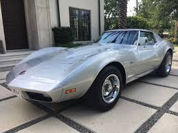 73 corvette stingray for sale 1973 corvette coupe silver blue automatic for sale photos