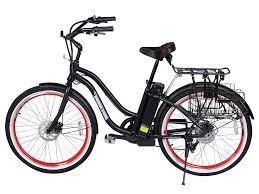 Most Comfortable Beach Cruiser Seat X Treme Malibu Beach Cruiser Lipo4 Lithium Electric Bicycle