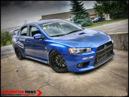 mitsubishi mirage evo automotive news 2008 mitsubishi lancer evo x time attack victory