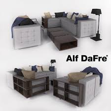 comfortable sofa in a modern style alf dafre 3d model in sofa 3dexport