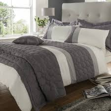 Catherine Lansfield Duvet Set Catherine Lansfield Universal Bedding Set In Charcoal U2013 Next Day