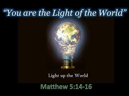 Light Up The World You Are The Light Of The World
