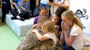 soldier surprises family at disney s of animation resort