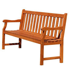 Garden Bench Hardwood Amazon Com Baltic Eco Friendly 5 Foot Outdoor Wood Garden Bench