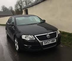 black volkswagen passat vw volkswagen passat 170 2 0 tdi sport 6 speed black 2007 fsh in