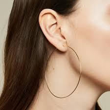 large hoop earrings large hoop earrings bychari
