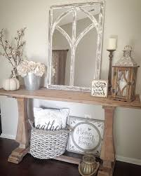 Farmhouse Console Table Best 25 Console Table Styling Ideas On Pinterest Side Table
