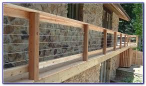 cable deck railing ideas decks home decorating ideas q3md0romq1