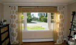 Two Curtains In One Window Two Curtain Rods One Window Window Curtains Designs And Ideas