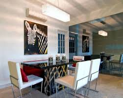modern contemporary dining room glamorous contemporary dining room