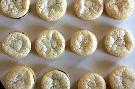 chewy amaretti cookies u2013 smitten kitchen